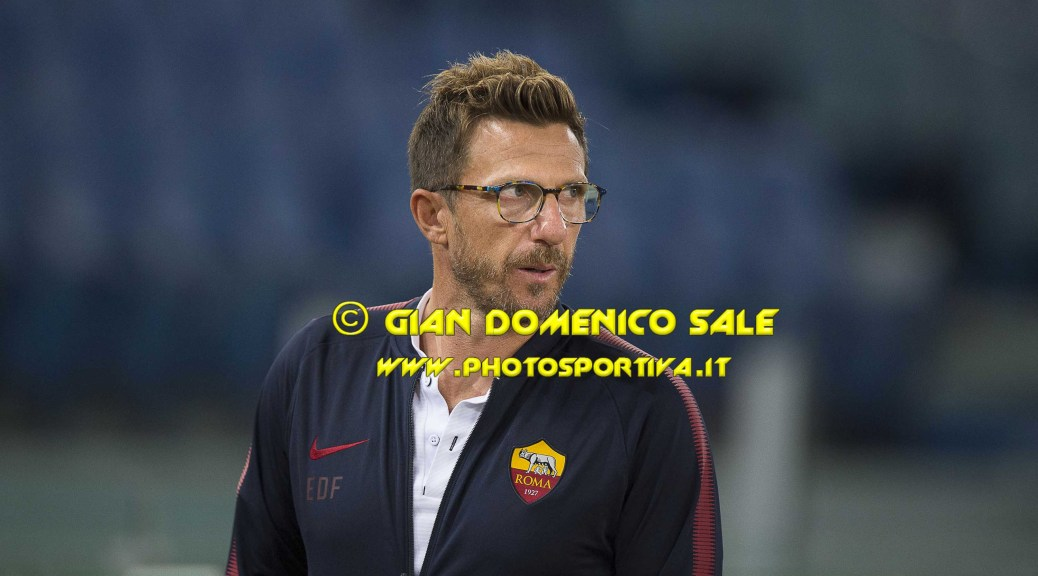 CONFERENZA STAMPA Di Francesco post Roma-Atalanta 1-2