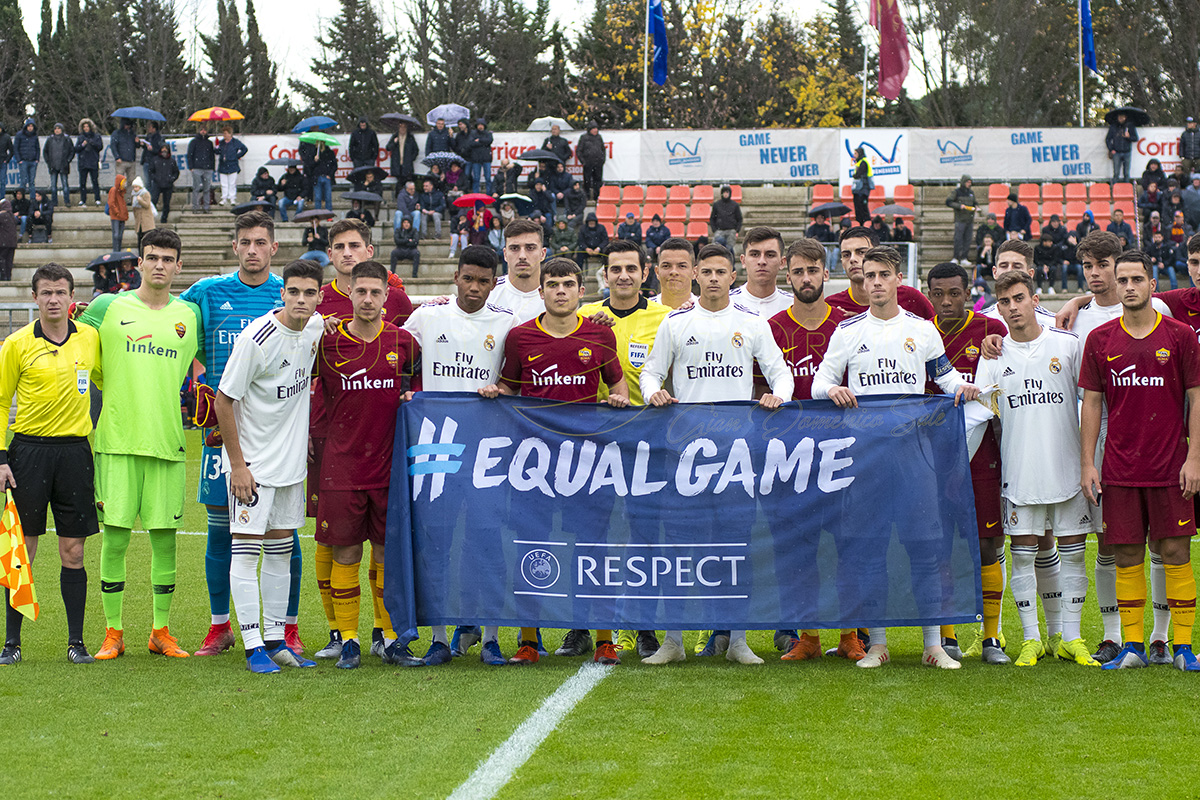 Fotogallery Youth League: Roma Primavera – Real Madrid 1-6 di Gian Domenico Sale