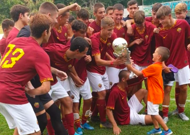 V Memorial Righetti Paris | L'Under 16 della Roma trionfa in finale, 3-1 al Parma